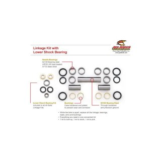 Linkage Brg - Seal Kit Yamaha WR200 92