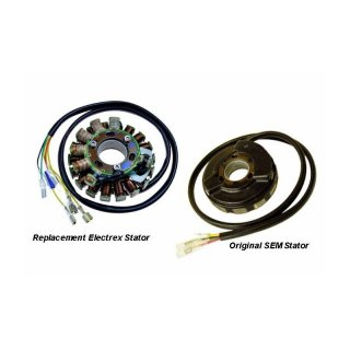 Lichtmaschine ST5410L - SEM Direct replacement Stator Husaberg - Models 1999 - 2003