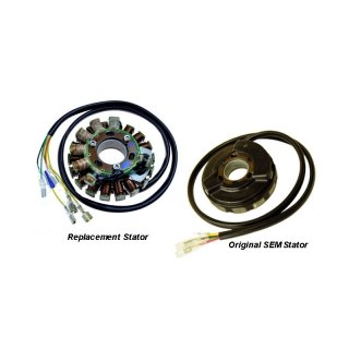 Lichtmaschine ST5500 - SEM Direct replacement Stator KTM (earlier models), Husqvarna, Husaberg (most models up to 1999),Aprilia RS125, Vertemati (All models)