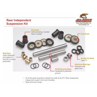 Rear Independent Suspension Suzuki LTA-450 X KING QUA 2007,LTA-700 X KING QUAD 2005-2007