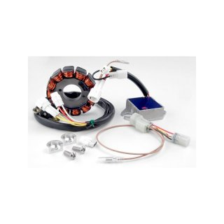 TrailTech 100 Watt Yamaha WR250F 06-09, WR450F 05-11; Includes: Stator and Switching Reg/Rec